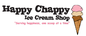 Happy Chappy Ice Cream Shop logo