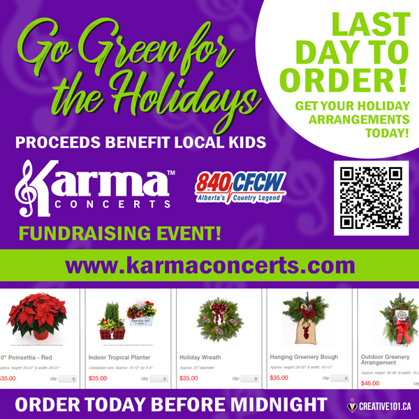 Karma Concerts Holiday Fundraiser