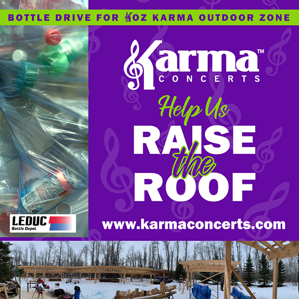 Bottle Drive for the KOZ Outdoor Amphitheatre.