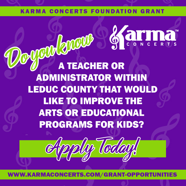 Apply for a Grant with Karma Concerts