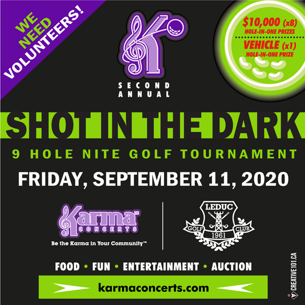 Shot in the Dark 2020 Nite Golf Tournament